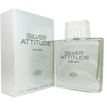 Deray Silver Attitude Eau de Toilette Spray for Men