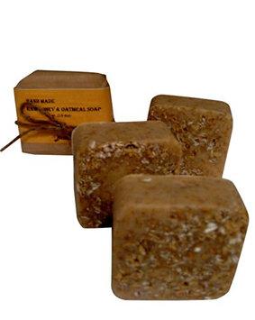 Oatmeal Raw Honey Soap with Tea Tree Oil 100% Handmade