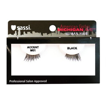 Sassi 804-M01 Michigan Ave 100% Human Hair Accent Eyelashes