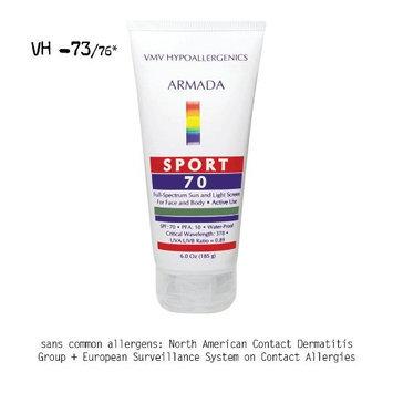 VMV Hypoallergenics Armada Sport 70 Sunscreen