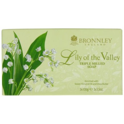 Bronnley England Lily Of The Valley Triple Milled Soaps for Women