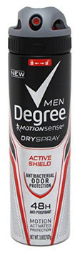 Degree Men Motionsense dry spray antiperspirant and deodorant