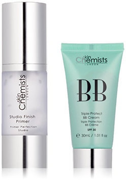 skinChemists Triple Protect BB Cream with SPF 30 Medium and Studio Finish Primer