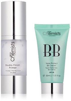 skinChemists Triple Protect BB Cream with SPF 30 Medium and Studio Finish Primer