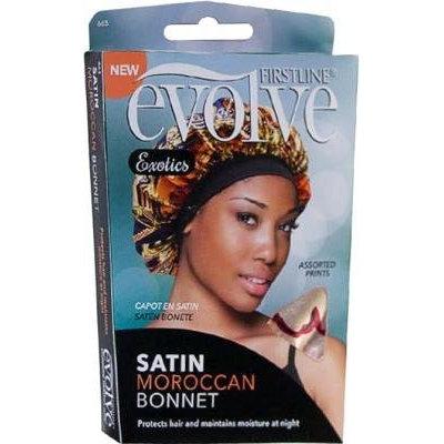 Evolve Exotics Satin Bonnet Moroccan