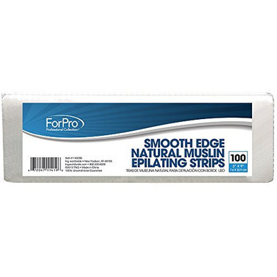 For Pro Natural Muslin Smooth Edge Epilating Strips