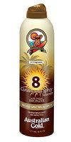 Australian Gold SPF 8 Continuous Spray Bronzer
