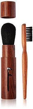 ON&OFF Wooden Retractable and Jumbo Brow Brush