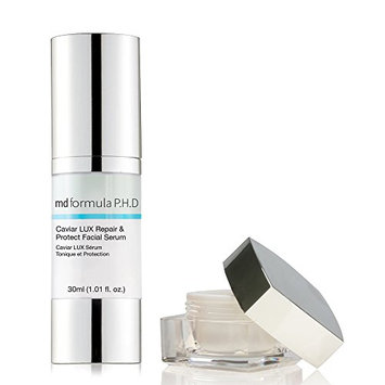 MD Formula P.H.D Caviar Lux Lift and Revive Overnight Eye Treatment with Repair and Protect Facial Serum