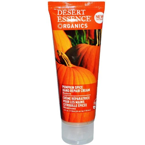 Desert Essence Organics Hand Repair Cream Pumpkin Spice -- 4 fl oz