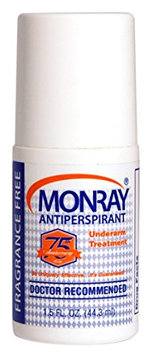 Monray Antiperspirant Strongest USA Produced Without a Rx Clinical Strength & Assured
