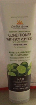 Creation's Garden Recovery & Rejuvenation Conditioner with Soy Peptides with Lime Verbena - Moisturizing for all hair types