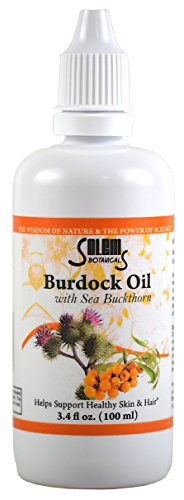 Salem Botanical Burdock Oil with Sea Buckthorn