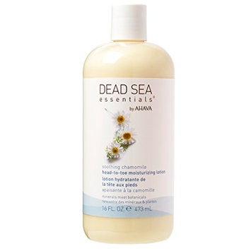 Dead sea essentials by ahava soothing chamomile head-to-toe body lotion