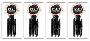SYD & ALEX Superior Hair Products Skinny Claw Clip Value Pack