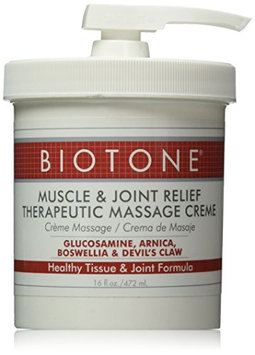Biotone Muscle and Joint Relief Therapeutic Products Massage Creme