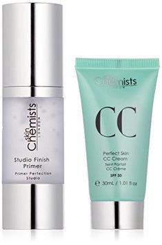 skinChemists Perfect Skin CC Medium Cream with SPF 30 and Studio Finish Primer