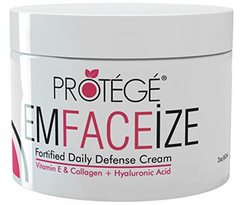 Anti-Aging Daily Moisturizer - EmFACEize - Premium Day Cream with Antioxidant Protection + Firms Skin + Helps Reduce Wrinkles and Fine Lines + Collagen + Vitamin E + Hyaluronic Acid (2oz)