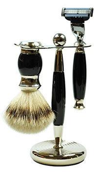 Pfeilring Germany Original Golddachs Vintage Shaving Set