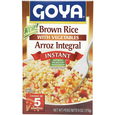 Goya Instant Brown Rice