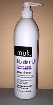 Muk Haircare Blonde Toning Treatment