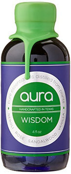 goobsi Wisdom Aura Aromatherapy Mist Spray for Home & Body Made with Pure Essential Oils