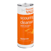 Guaranteed Value Scouring Cleanser with Bleach