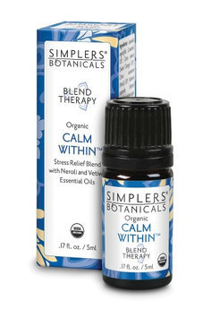Calm Within Simplers Botanicals 5 ml Liquid