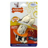 Nylabone Flavor Frenzy T Bone Steak Dog Toy