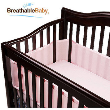 BreathableBaby Breathable Mesh Crib Liner by Breathable Baby-Bayshore Blue