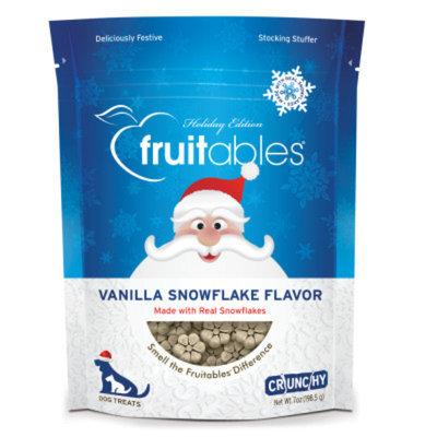 FruitablesA Snowflake Dog Treat