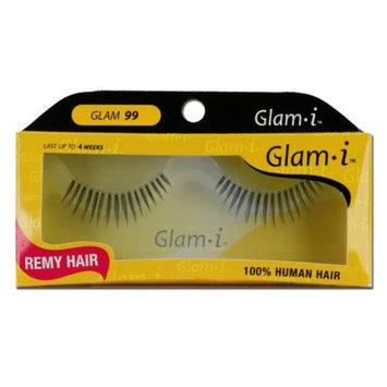 Glam-I 99 Full Strip Human Hair Eyelashes