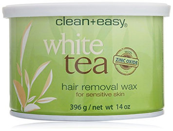 Clean + Easy Soft Wax White Tea with Zinc Oxide