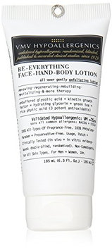 VMV Hypoallergenics Re-Everything Face Hand Body Lotion