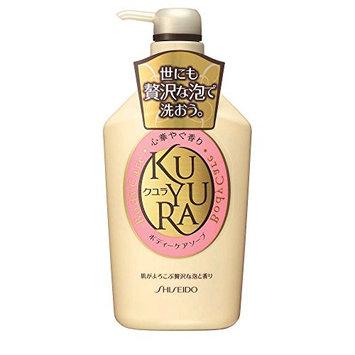 Shiseido Kuyura Body Care Soap Revitalizing Floral