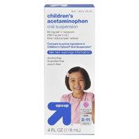 up & up Children's Oral Suspension Acetaminophen Liquid - Bubblegum (4 oz.)