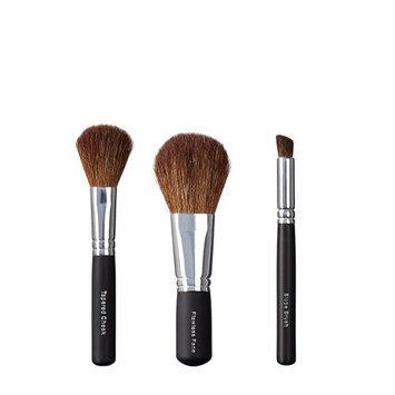 VEGAN LOVE Tapered Cheek Flawless Face Slope Brush Trio