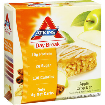 Atkins Day Break Apple Crisp Bar