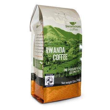 Paramount Coffee, Fair Trade Rwanda, Ground Coffee, 12-Ounce Bags (Pack of 3)