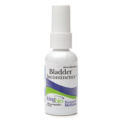 Natural Medicine by King Bio Bladder Incontinence
