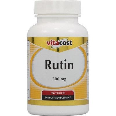 Vitacost Brand Vitacost Rutin -- 500 mg - 100 Tablets
