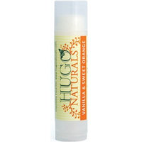 Hugo Naturals Lip Balm, Vanilla & Sweet Orange , .15-Ounce Units (Pack of 6)