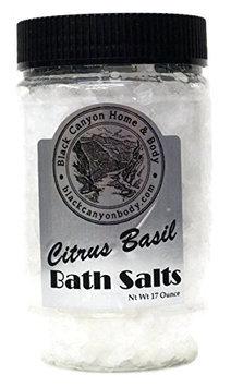 Black Canyon Citrus Basil Bath Sea Salts