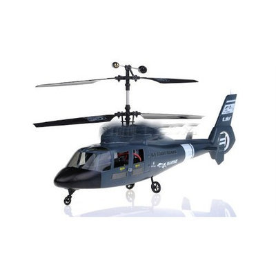 Esky Us Coast Guard Marine Dauphin 4 Channel Rc Helicopter 2.4ghz Colors Vary Sent At Random
