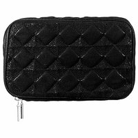SEPHORA COLLECTION Quilted Bag Collection - Black Organizer 8 x 2.5 x 6