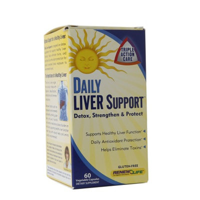 ReNew Life Daily Liver Support, Capsules, 60 ea