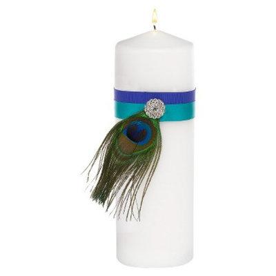 Hortense B. Hewitt 11172 Peacock Plume Unity Candle