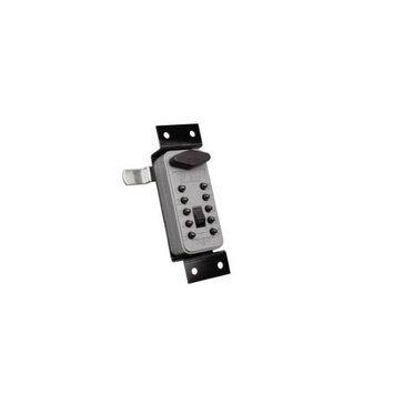 Sexauer-ge GE 1773 Keybox Pushbutton Cam Lock Titanium