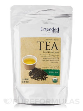 Organic Green Tea 8 oz by Extended Health