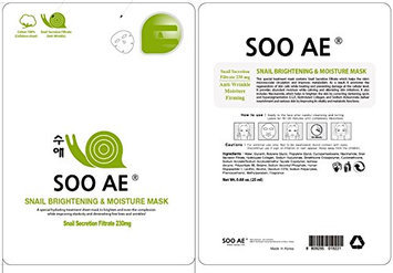 Soo Ae Snail Collagen Brightening and Moisture Mask